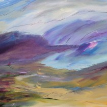 Approaching Storm - 22 in. x 30 in.