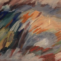 Mountains Flamboyance - 22 in. x 30 in.