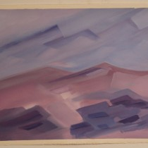 Sand Dunes of Color - 22 in. x 30 in.