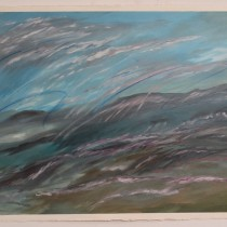 Wind Over the Plains - 22 in. x 30 in.