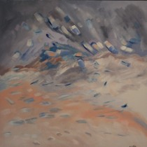 January Thaw - 36 in. x 36 in.