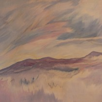 Mt. in the Distance 3' x 5'